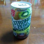 今日の家飲み「STRONG ZERO まるごと キウイ」を買ってみた